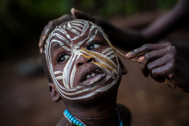 West African Face Painting