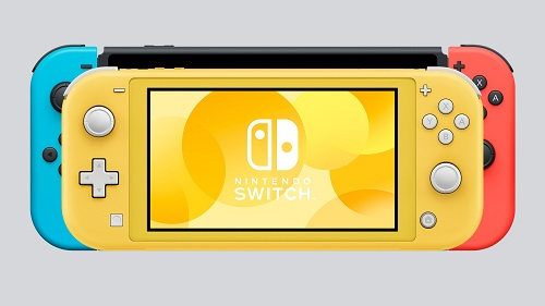 Switch Lite is small as compared to Switch