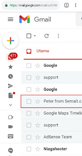 Cara Menghapus Email Tertentu