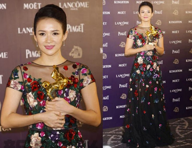 Zhang Ziyi in Zuhair Murad – 50th Golden Horse Awards After Party