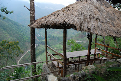beautiful view of banaue rice terraces