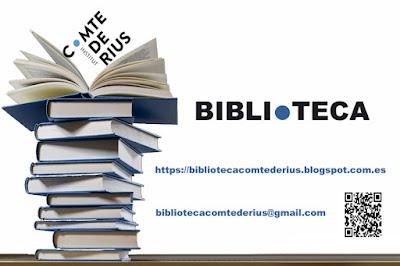 #llegirdecomte #lecturaderius #institutcomtederius #elcomte #bibliodelcomte #labibiodelinsti #bibliotecaescolar #puntedu