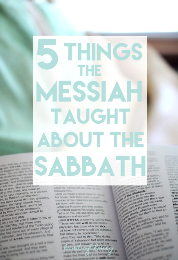 Messiah and the Sabbath