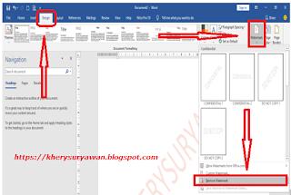 File Pendidikan 2 Cara Menghilangkan Watermark : Tulisan Yang Menempel Di Word