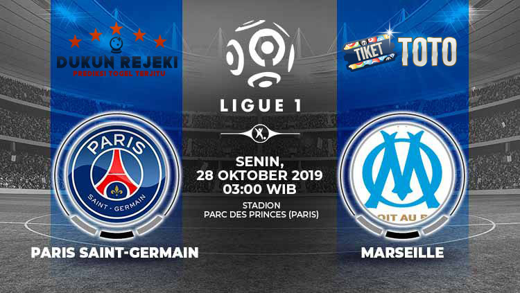 Prediksi Pertandingan Paris Saint Germain vs Marseille 28 Oktober 2019