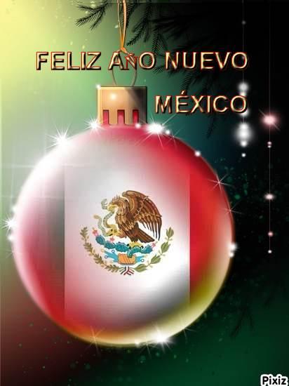 Feliz Año 2017 México