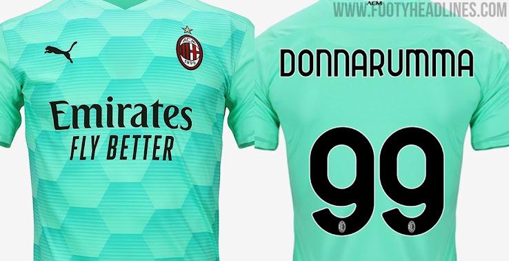 Ac Milan 20 21 Goalkeeper Kit Released Footy Headlines