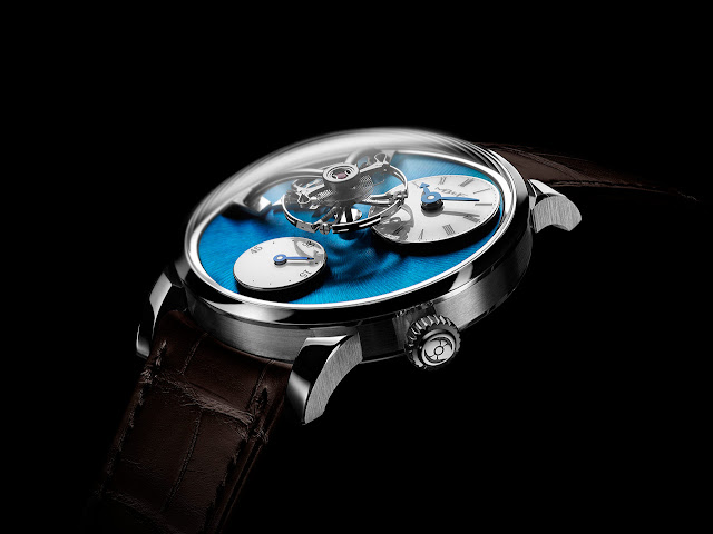 MB&F Legacy Machine 101 in stainless steel