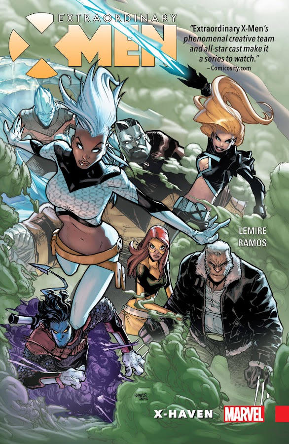 extraordinary x-men marvel comics