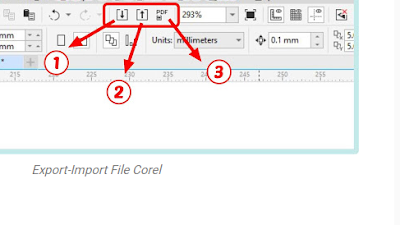 Cara Export Gambar Vector di CorelDraw