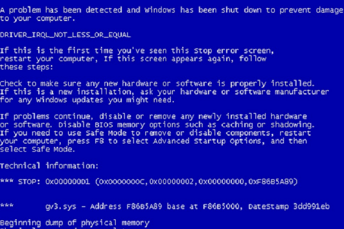 BSOD 0x0000000C MAXIMUM_WAIT_OBJECTS_EXCEEDED Error