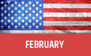 February usa calendar