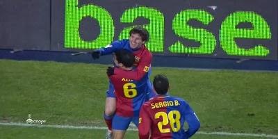 LFP-Week-20 : Barcelona 4 vs 1 Numancia 24-01-2009