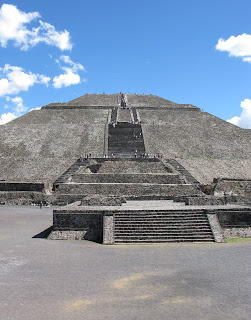 Pyramid of the Sun - Teotihuacan - Mexico