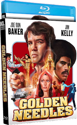 Cover art for Kino Lorber Studio Classics' Special Edition Blu-ray of GOLDEN NEEDLES!