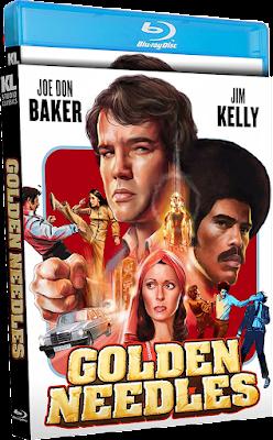 Vault Master's Pick of the Week for 09/21/2021 is Kino Lorber Studio Classics' Blu-ray release of GOLDEN NEEDLES!
