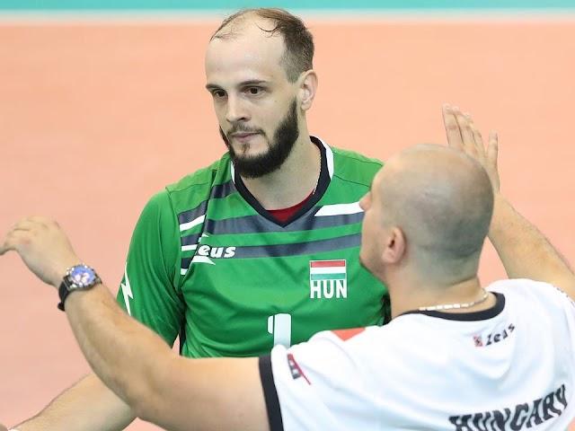A magyar férfi röplabda-válogatott centere marad a Bundesligában