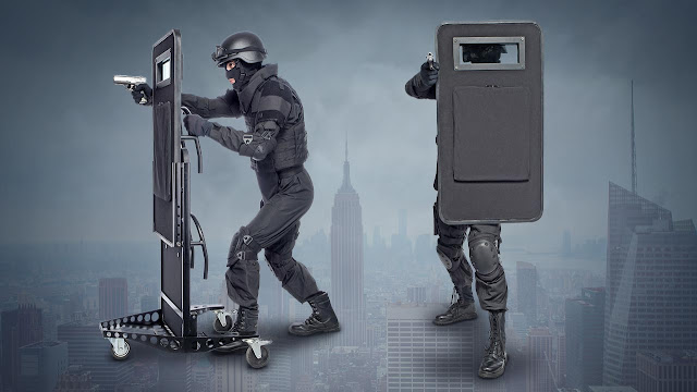 self-defense, safety, ballistic shields, armor