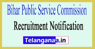 Bihar Public Service Commissionecruitment BPSC Recruitment Notification 2017