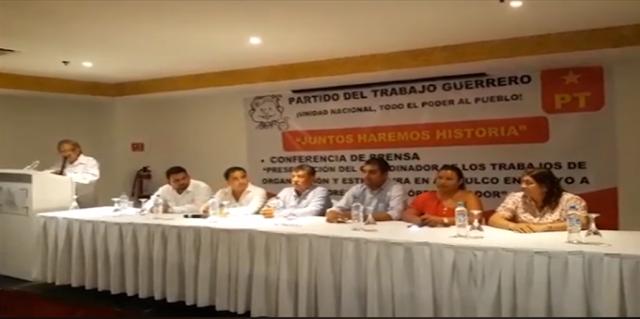 PT va solo en Acapulco y destapa a Javier Solorio como su virtual candidato