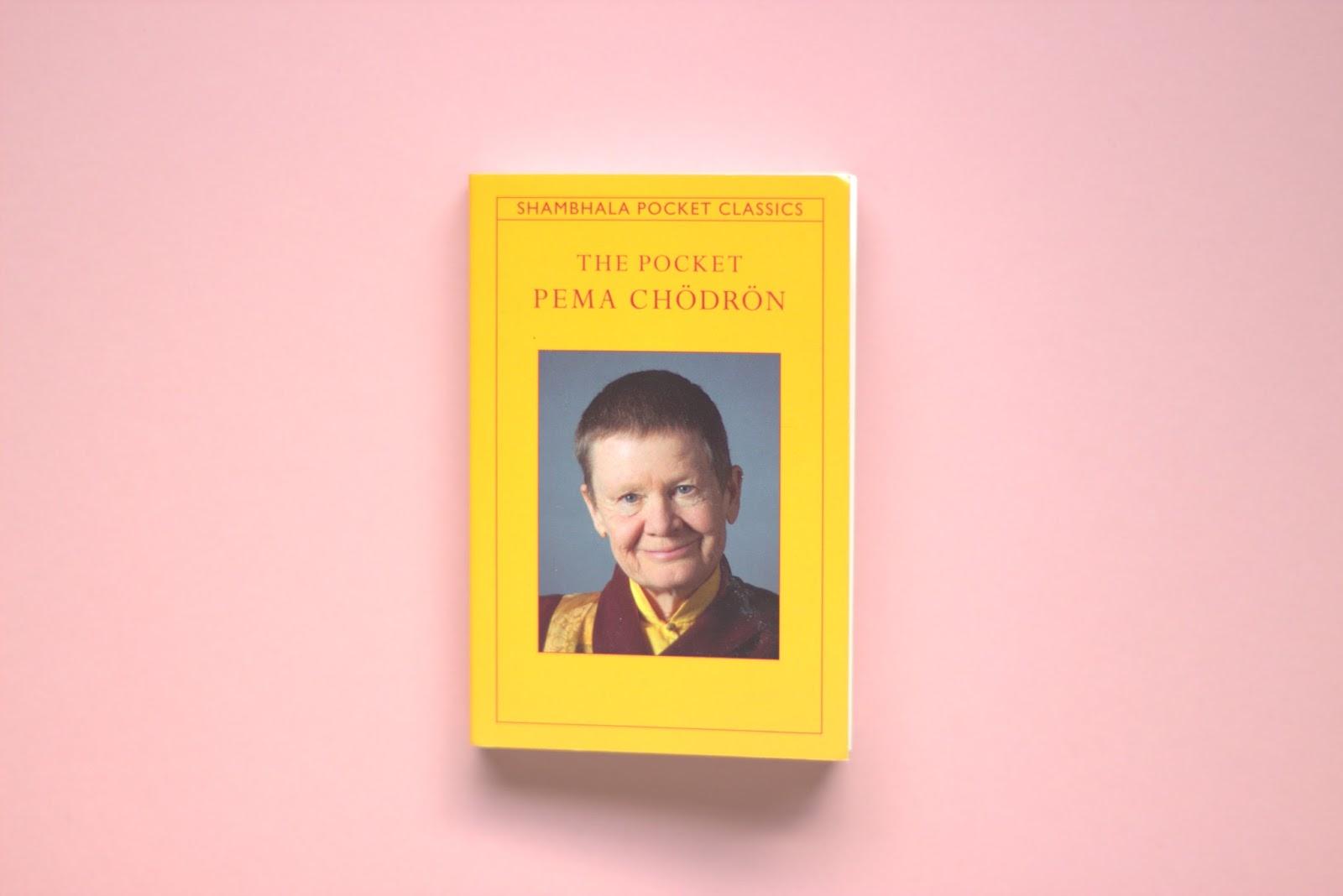 pema chodron book, meditation, wellness, mindfullness