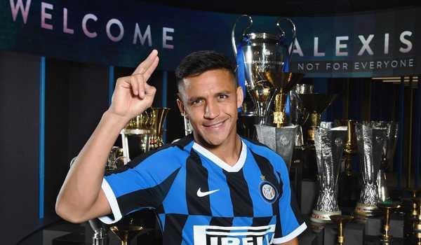 Alexis Sanchez Puji Pelatih Inter Milan Antonio Conte