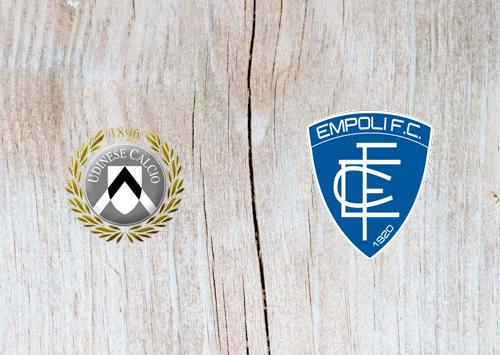 Udinese vs Empoli - Highlights 7 April 2019