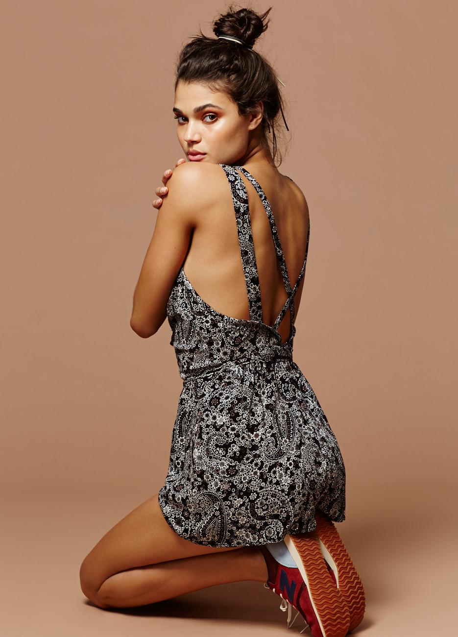 Free People Delfonic Flirty One Piece