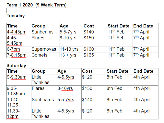 sunshine drama timetable 2020