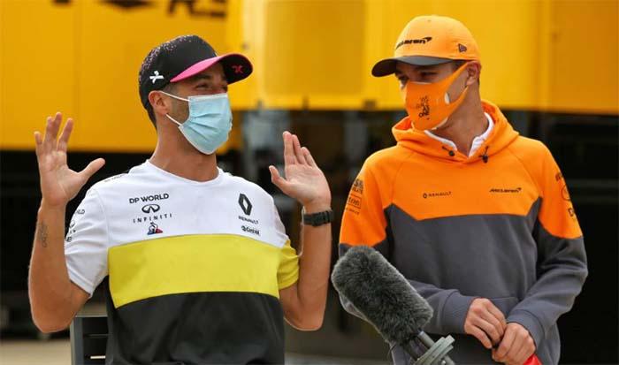 Lando Norris fala dos Problemas que Daniel Ricciardo tem passado