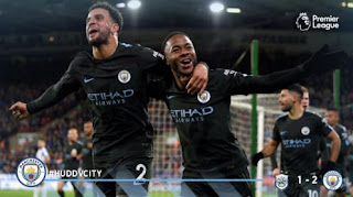 Huddersfield Town vs Manchester City 1-2 Highlights