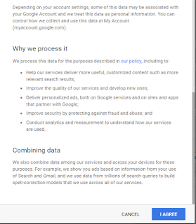 Privacy and term cara membuat email di google 2