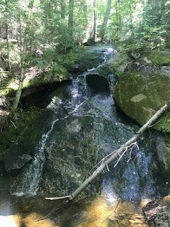 Waterfall on Mt Kinsman Trail