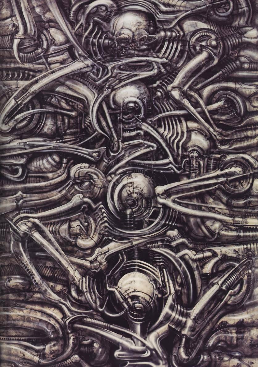 Necronomicon Giger