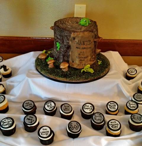 Sweet T S Cake Design Tree Stump 3d Sculpted Cake Old