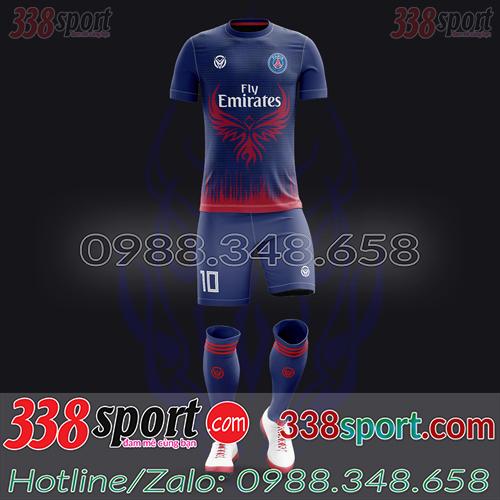 Áo PSG Đặt May Theo Yêu Cầu - Mã PSG 04