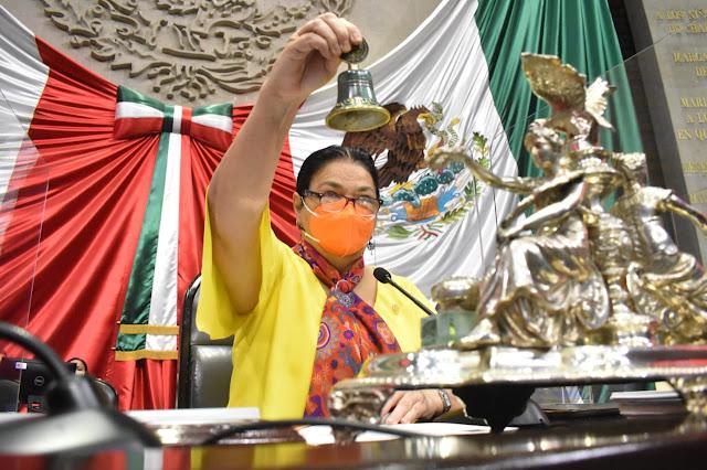 Reconoce diputada Sauri Riancho la labor de 23 años del Canal del Congreso