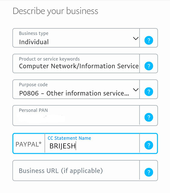Paypal sign up keise kare, paypal account create