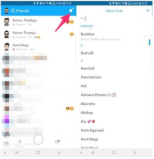 Cara Melihat Daftar Teman Lengkap Pada Snapchat dengan 2 Metode
