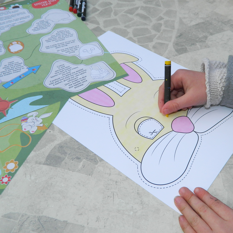Maps International Egg Hunt Craft