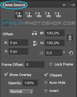 panel clone source photoshop