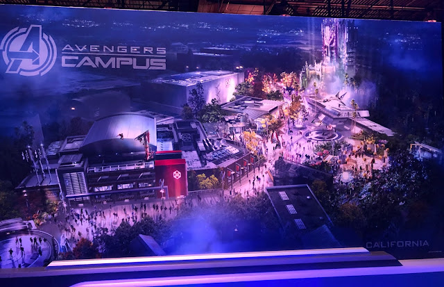 D23 Expo 2019 Marvel attractions, Disneyland Avengers Campus