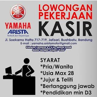 Karir Yamaha Bandung 2019 Minimal SMA SMK D3