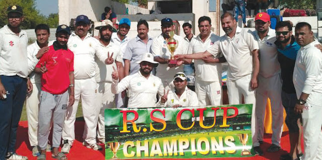 NCC won the final match of the R.S.Cap under the leadership of Captain Virendra Bhati.