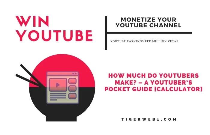 youtube earnings per million views