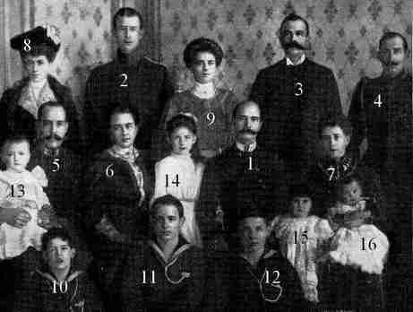Romanov, famille royale de  Gtèce