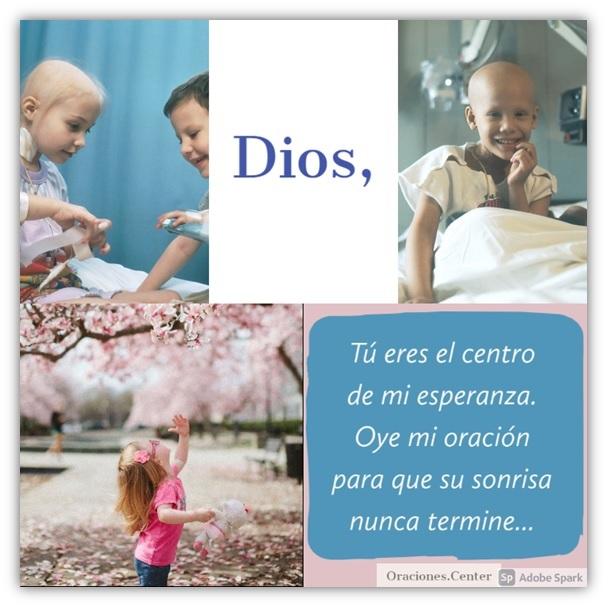 Oración por un Niño con Cáncer
