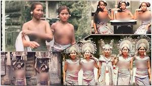Pakaian Adat Bali, Dahulu Wanita Bali Tidak Pernah Memakai Penutup Dada