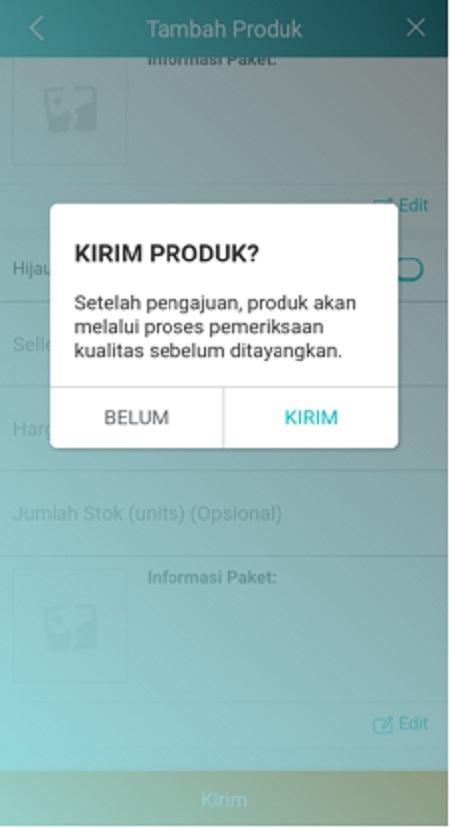 Fitur tambah produk lazada Seller Center
