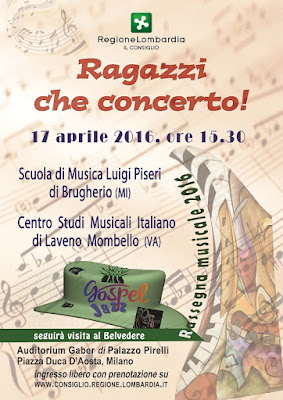 """""""Ragazzi che concerto!"""" Milano Palazzo Pirelli 17/04/2016"""